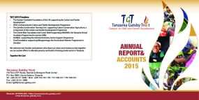 Tanzania Gatsby Trust Annual Report & Accounts 2015