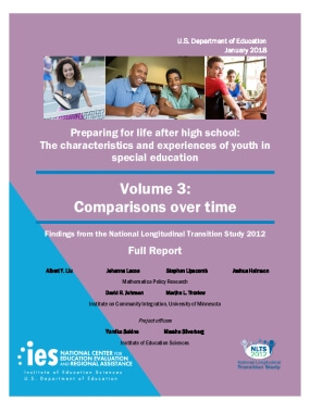 Preparing for Life after High School: The Characteristics and Experiences of Youth in Special Education, Volume 3: Comparisons Over Time